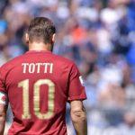Roma - Pronostici serie a addio al calcio francesco totti