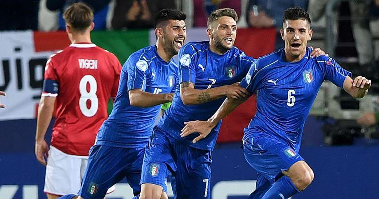 Europei Italia Under21 su BonusVip