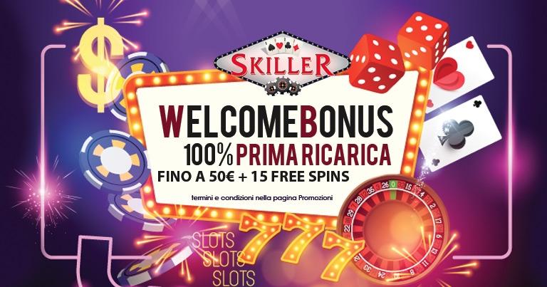 Skiller Bonus Casino su BonusVip