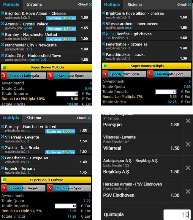 Schedine vincenti 20-21 gennaio_OK